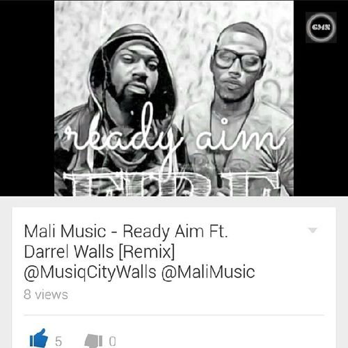 So yeah.... @MaliMusic & @MusiqCityWalls just Putfireonem with this ReadyAim remix! ???????