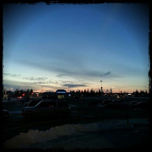 Sunset Tonight Sunset Regina Saskatchewan