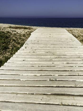 Aspettami Altro, Oltre Beach Eye4photography  EyeEm Masterclass Footpath Horizon Over Water No People Outdoors Sardegna Sardinia Sea Water Live For The Story