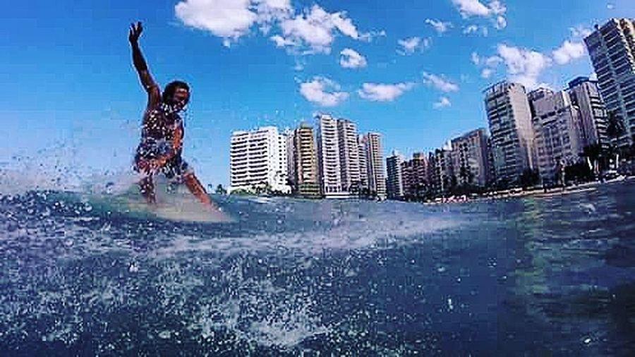 One Person Sea Beach Water Nature Aloha Hawaii Life Mahalo Ohana 18-030 Facebook Sea Life Surf's Up Longboarder Guarujá Longboard Asturias Hang5 Surf Surf Photography Surfing Surfingphotography