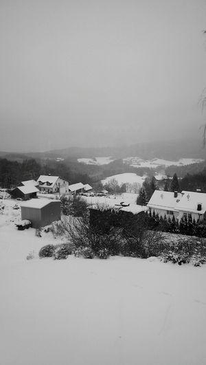 Snow ❄ Taking Photos Lovehim♡ Cold Winter ❄⛄
