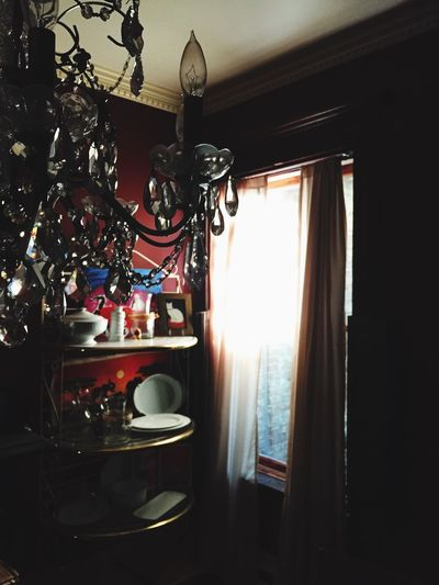 Morning Light And Shadow Dining Room Guilded