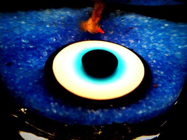Evil eye bead...