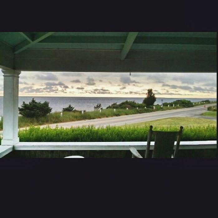 Open sky and a rockin chair OpenSkys Ocean Air Salty Air Zen Place Summer Sunrise