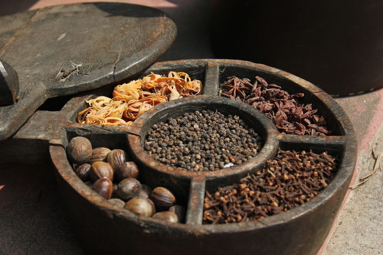 Close-Up Of Spices