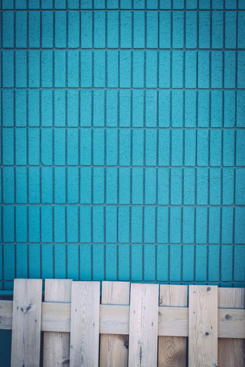Blue Contrasting Colors Contrasting Textures Day No People Outdoors Palette Pattern Wall