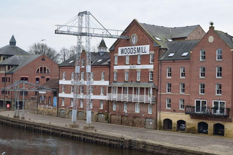 York Canal Row