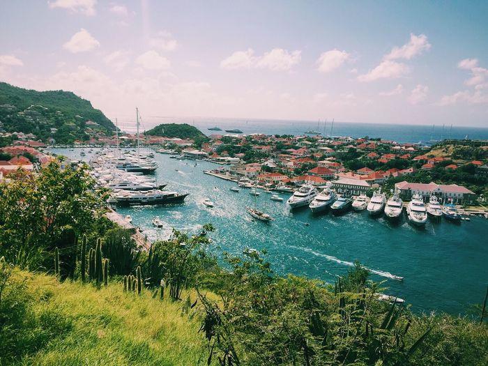 Saint-barth is always a great idea Sea Water Boat Yacht First Eyeem Photo