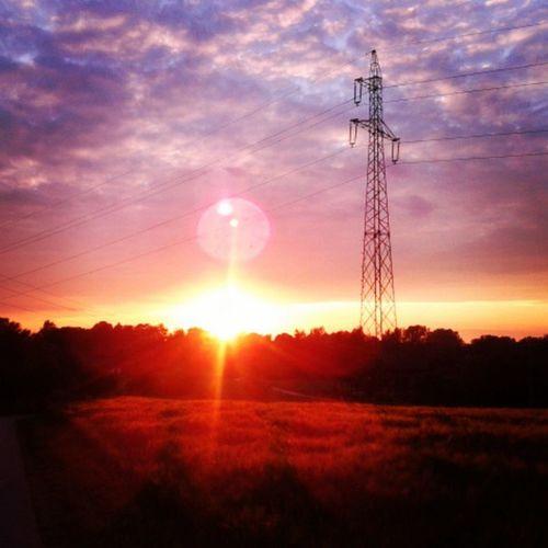 Sunset Biegamy Sobie Fitness sport rzeźba