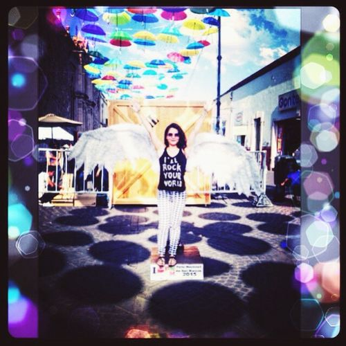 Original Experiences Hieveryone Peka Cure Isan Angel Aguascalientes Love ♥ Theview Thevividworld Colors Umbrellas Mexico Sommergefühle