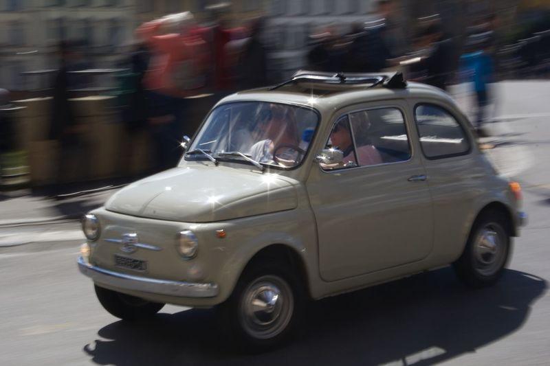 Classic Cars Fiat Fiat500 Oldtimer Panning Keep It Blury Dynamiclight Sunnyday☀️ Nofilter Classiccar