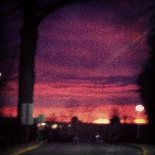 Always look for the light when darkness surrounds. Easternsunrise Earlymorning  Springsemesterstart
