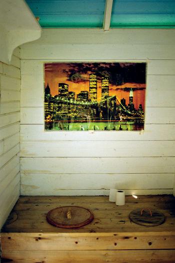Architecture Ekological Lifestyle Ekology Indoors  New York Poster Night In New York No People Outdoor Toilet Restroom Smallest Room Sustainable Devolepment