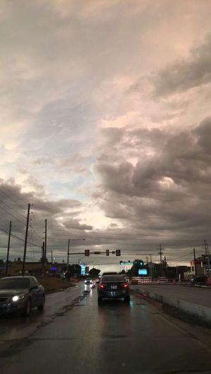 On The Move Traffic Cloud - Sky Sky City Life