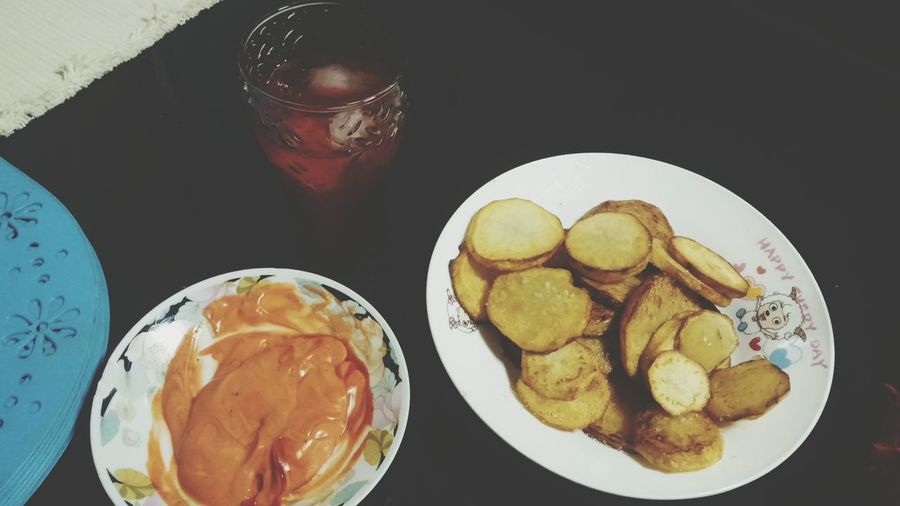 What i made for dinner Mojos Raspberry Juice Ketchup And Mayo Foodie
