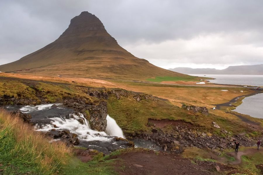 Kirkjufell Iceland September 2016 Water Tranquil Scene Tranquility Scenics Rock - Object Travel Destinations Non-urban Scene Tourism Nature Cloud - Sky Sky Mountain Beauty In Nature Stream Geology Physical Geography Moss Flowing Sea Vacations