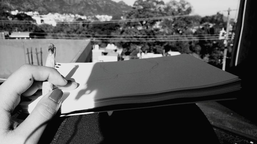 Close-up Streetphotography Black And White Mexicanphotographer Blackandwhite Photography Photography Tranquility Sky Cloud - Sky Horizontal Smoke Weed