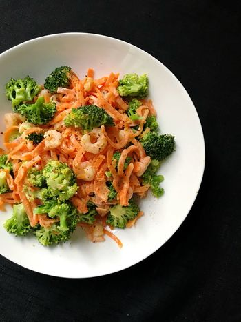 Lowcarb Spaghetti mit Garnelen und Brokkoli Healthy Lifestyle Healthy Healthy Eating Fitnessfood Fitfood Lowfat Food Eating Essen Carrots Broccoli Meal Dietfood Diät Diet Cleaneating Shrimps Lunch Lowcarb Foodporn Plate Ready-to-eat Serving Size First Eyeem Photo