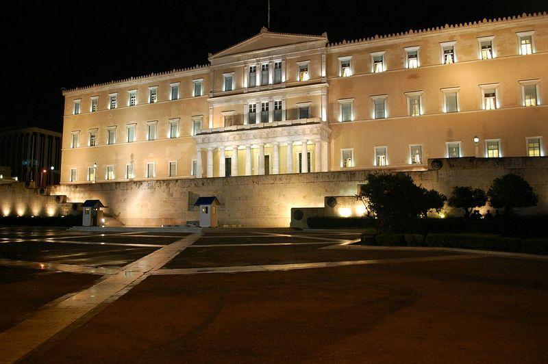 Greek Parliament Greek Parliament By Night Nightview Night Time Night Shot Nighttime Night View Nightshot Night Photography Nightphotography Learn & Shoot: After Dark Cities At Night