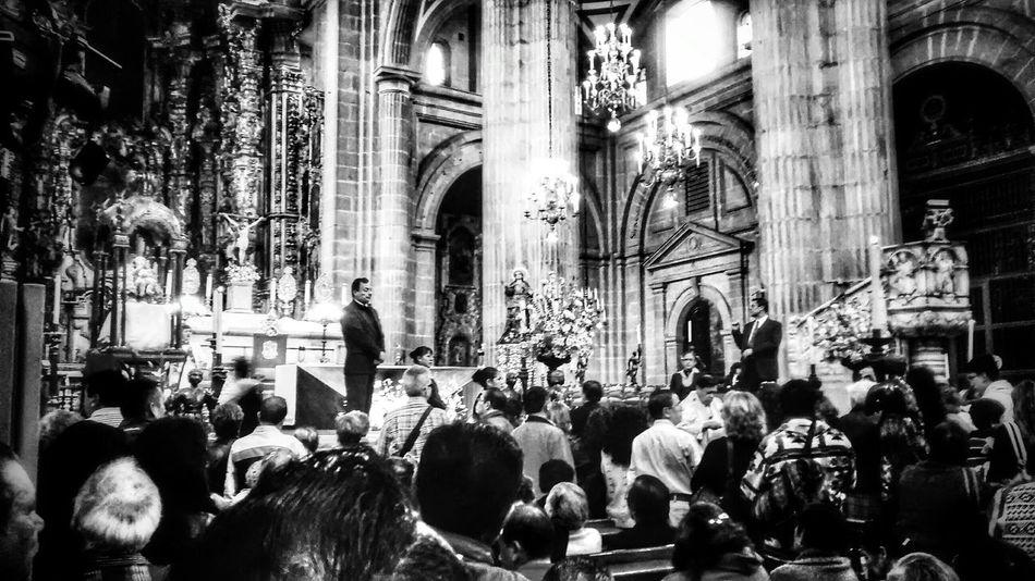 Mexico City Black & White Church Iglesias