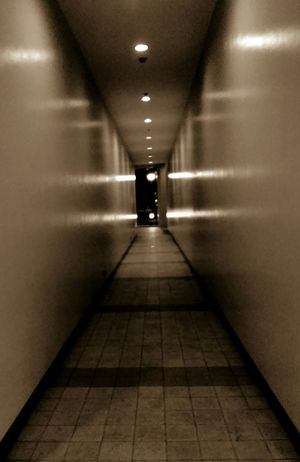 Creepy Hallway Eyeem Philippines No People Dont Be Alone Dare To Walk Lights And Shadows