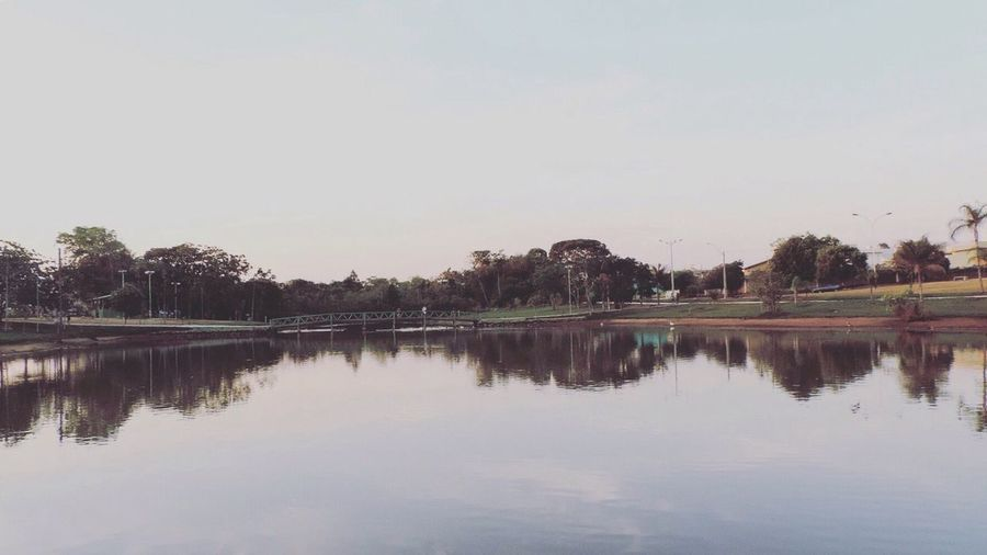 Reflection Water Waterfront Lake Tree Tranquil Scene Tranquility Calm Scenics Clear Sky Beauty In Nature Nature Standing Water Non-urban Scene Day Majestic Countryside Sky Outdoors No People