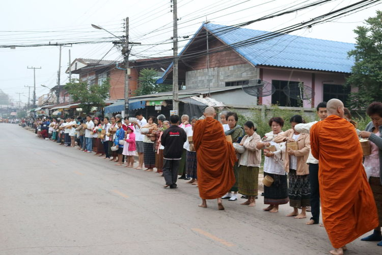 Country Life Countryside Day Large Group Of People Morning Life Outdoors Parade People Uniform Women