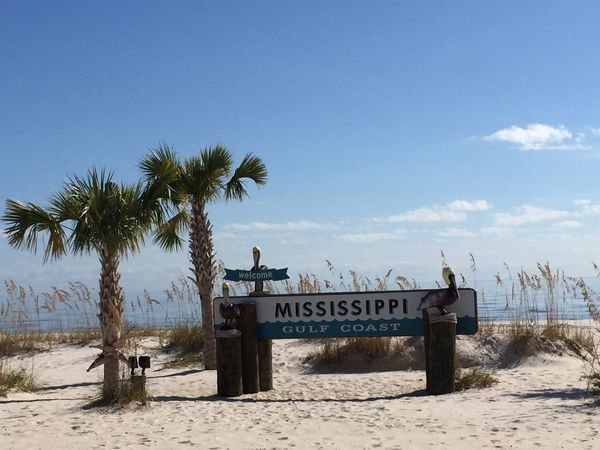 The EyeEm Facebook Cover Challenge Hanging Out United States Beach Beach Photography Alabama Sign