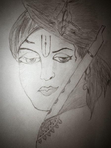 Krishna sketch