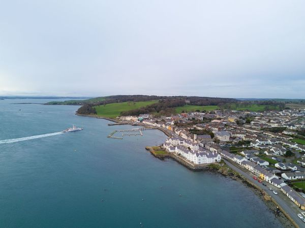 Aerial View Beach Coastline Day First Eyeem Photo Horizon Over Water Nautical Vessel No People Outdoors Portaferry Sailing Ship Sea Strangford Lough Water Yacht