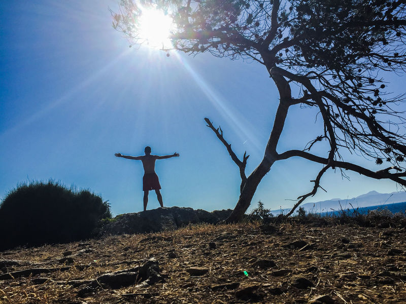Beach Calas Mallorca Nature One Person Outdoors Real People Sky Sun Sunlight