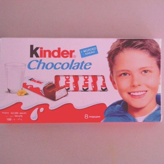 Yammy  Passion вкусдетства Kinder chocolate iloveit followme instapic instadaily