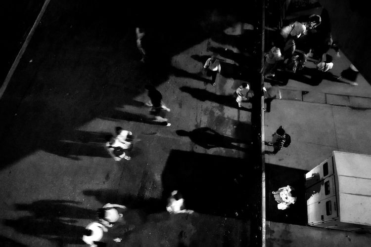 Shadows Shadows & Lights Yangon Blackandwhite Blackandwhite Photography Busstop Day High Angle View Indoors  Men Mobilephotography Mobilestreetphotography One Person People Real People Shadow Streetphoto_bw Streetphotography Urbanphotography Women