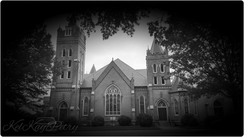 Take Me To Church Blackandwhite Statesville Small Town Downtown Northcarolina Peaceful ShadesOfGray Old Church