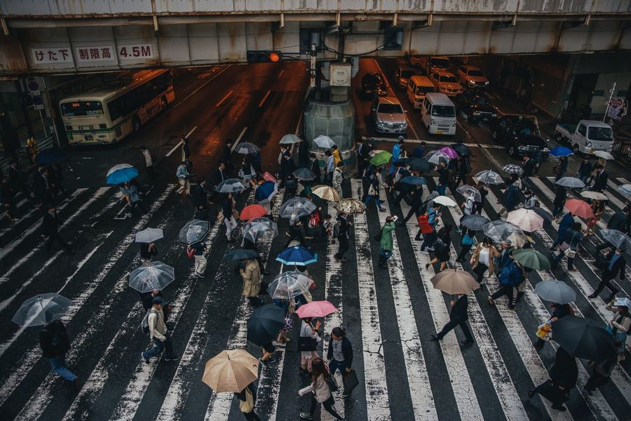 High Angle View People EyeEm Best Shots From My Point Of View Streetphotography Eye4photography  Nikon Japan EyeEm Gallery Japan Photography Nikonphotography Street Photography