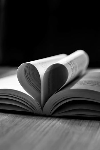 Heart Love Book Love Books Reading Love Reading No People Professionalphotography Bwphotography Book Cover Learning Library Literature Publication Research Education Book Wisdom Page Hardcover Book Bookstore
