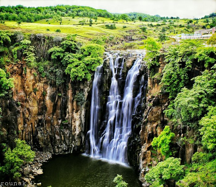 Colour Of Life Patalpani Waterfall Greenry Naturelove Nature Photography Canon1200d