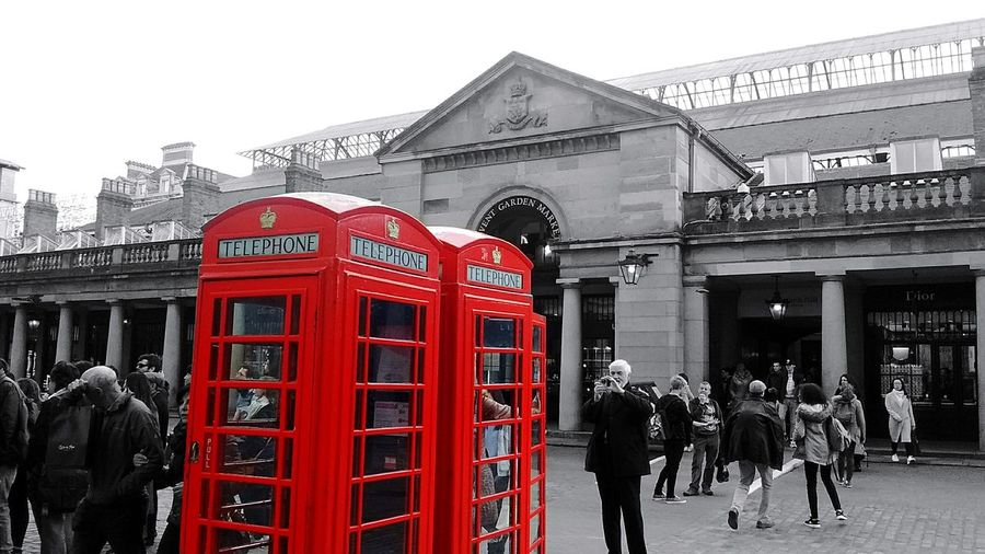 Red Telephone Booth City People Day Backgrounds Architecture London London Lifestyle Made With Love Made With Color Pop
