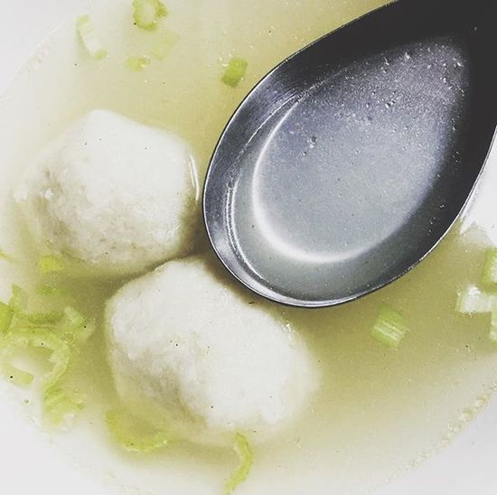 暖暖身子。 Daily Slowlife Fishballsoup