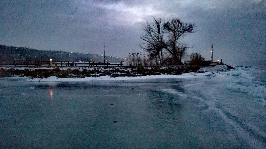 Balaton Hungary Balaton Lake Balatonaliga Shades Of Winter