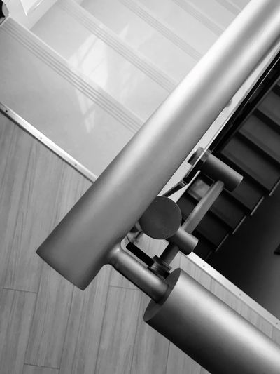 Indoors  Low Angle View No People Metal Technology Close-up Pipe - Tube Pattern Wall - Building Feature Built Structure Staircase Architecture Pipeline Tilt Connection Railing Ceiling Day Pipe Steel
