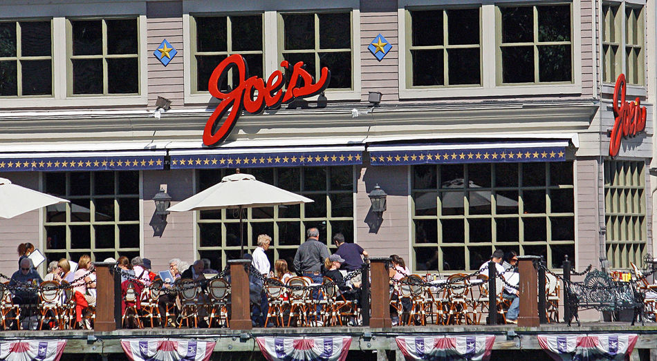 Boston Harbour Restaurants Boston Harbour Boston, Mass Fish Restaurants Joes Restaurant Adult Adults Only Architecture Awning Building Exterior Built Structure City Day Ice Rink Large Group Of People Lifestyles Men Outdoors People Railing Real People Store Women