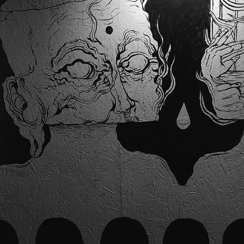 Here's the 1st work from the exhibition I told you about a bit earlier. I like this kind of creepy art, do you?)) Artvorota Outoftime Art Illustration exhibition painting creepy monochrome russian vscovisuals vscoandroid vscocam vscorussia vscoklgd vsco htcone htc