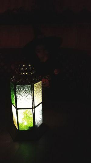 Latern, Halloween, Girl, Night