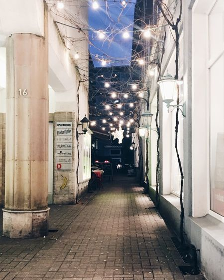 Streets Illuminated Night Lighting Equipment Built Structure Architecture The Way Forward No People Building Exterior Electricity  Outdoors Sky City EyeEmNewHere