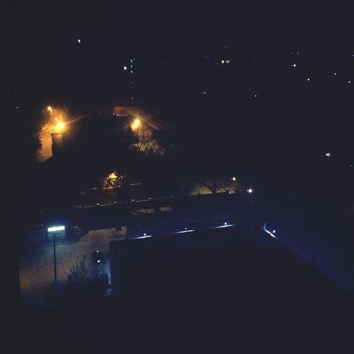 Снежно-снежная ночь)) ураура))