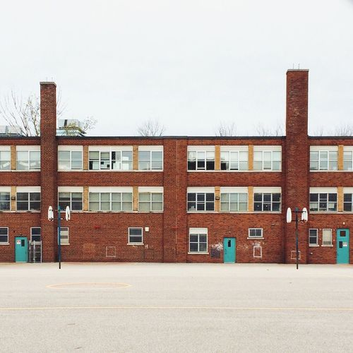 School's out Toronto Queen West Downtown Toronto School Architecture Toronto Landscape TorontoLife Toronto Skyline School Life  Brick Brick Wall Canada