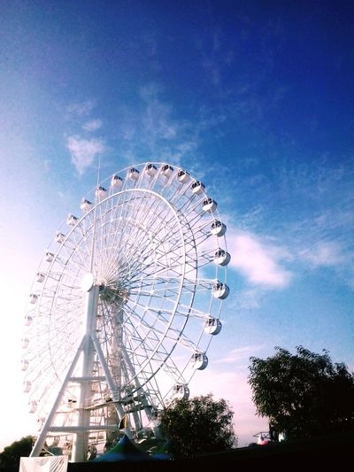 Up and away. – Ferris Wheel Skyranch