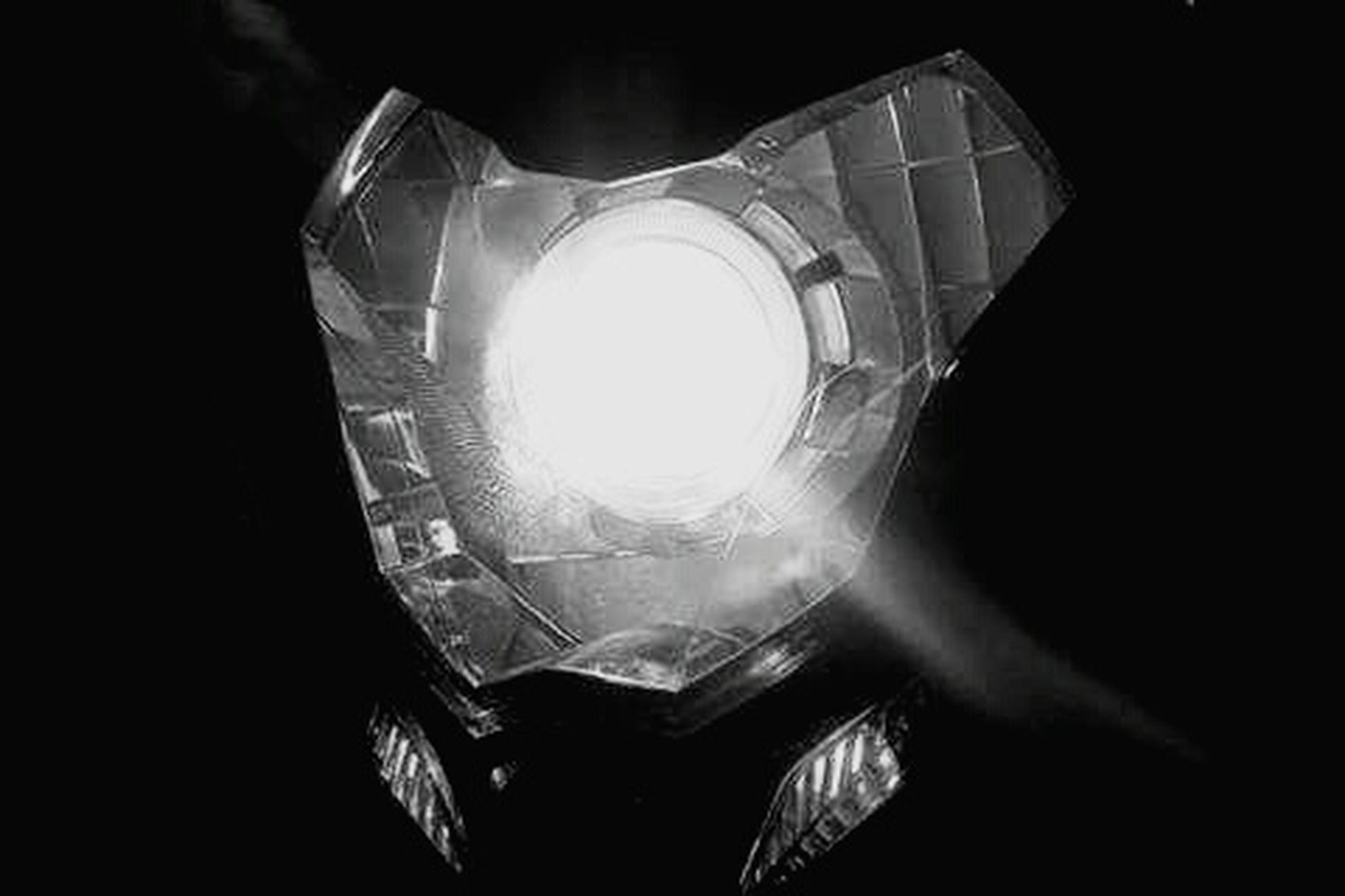 lighting equipment, light bulb, single object, illuminated, electricity, no people, close-up, black background, studio shot, filament, indoors