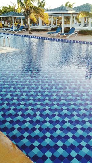 Cayo Coco Cuba Water Swimming Pool Luxury Hotel Luxury Sea Beach Multi Colored Blue Pattern Tourist Resort
